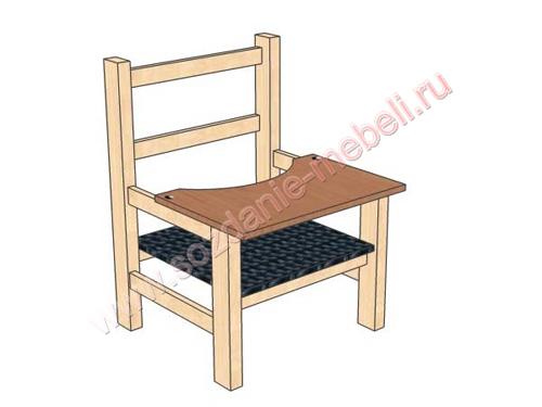 Как сделать стул для кормления ребенка.