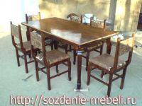 Комплект N2 - из 6 стульев и стола